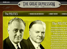 The Great Depression e-Learning App